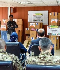 Associazione Ampio Raggio: donazione farmaci in Afghanistan diretta da un ufficiale medico della Campania