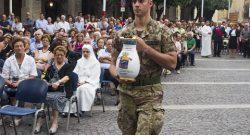 CME Abruzzo: i Diavoli Gialli del 185° alla 58^ Fiaccola della Carità
