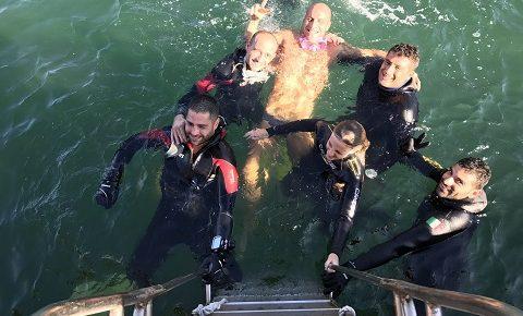COMSUBIN: giunge alla 11^ edizione la tradizionale immersione con i disabili a Porto Venere