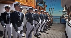 Marina: nave scuola Vespucci a Quebec City fino all'8 luglio per la Campagna di Istruzione 2017