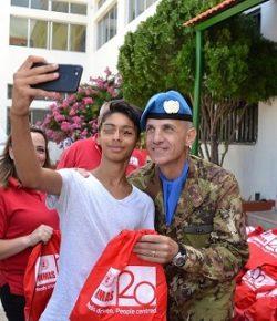 Sector West, UNIFIL: un corso Mine Risk Education per i giovanissimi dai peacekeeper italiani con UNMAS e LAF