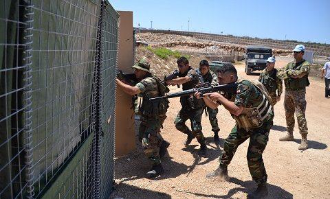 Sector West, UNIFIL: Urban Fighting Course dei caschi blu italiani per le Forze Armate Libanesi