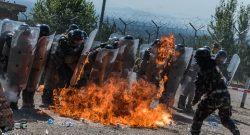 MNBG-W, KFOR: esercitazione in assetto antisommossa a difesa del Monastero di Decani