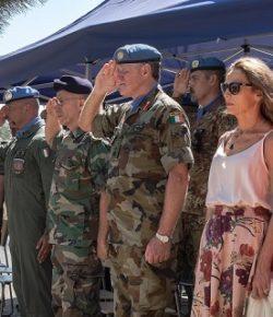 UNIFIL: ITALAIR commemora i caduti Sgrò, Parisi, Gatti, Forner e Lync, vittime di un incidente di elicottero nel 1997