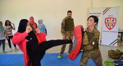 Sector West, UNIFIL: dai caschi blu italiani un corso di difesa da aggressioni fisiche, psicologiche e verbali. Per sole donne