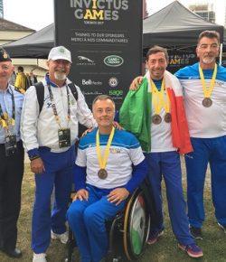 """Invictus Games Toronto: 9 medaglie per gli italiani del GSPD, """"Straordinari!"""" il commento del CaSMD gen Graziano"""
