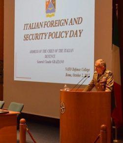 NATO Defense College: il CaSMD gen Graziano inaugura il Field Study del 131° Senior Course, focus su Southern Flank e Difesa europea