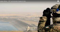 Alpini: nel 145° anniversario delle Truppe Alpine un filmato del 3° rgt Alpini a Mosul