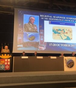 Terrorismo: all'XI Regional Seapower Symposium il CaSMD gen Graziano evidenzia criticità area Mediterraneo