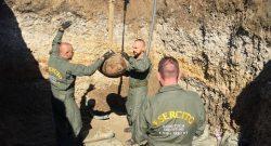 Esercito, bomba-day a Bologna: gli artificieri del Genio ferrovieri concludono operazioni di bonifica di una bomba americana