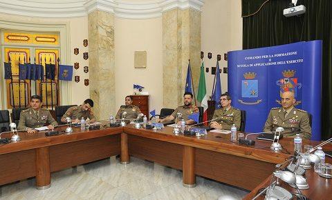 """Scuola di Applicazione: visita del direttore del Centro addestramento dell'Esercito del Kuwait per """"avviare progetti comuni"""""""