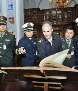 Scuola di Applicazione: una delegazione di 11 ufficiali cinesi in visita a Palazzo Arsenale a Torino