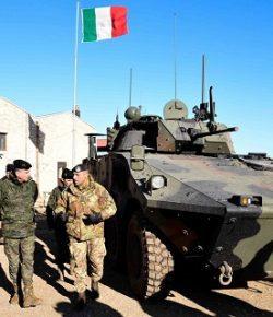 Esercito: la Pinerolo in esercitazione riceve la visita del Comandante della brigata spagnola Aragon I
