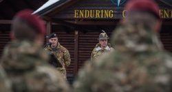 KFOR: visita del COMKFOR gen Cuoci al Multinational Battle Group West di Villaggio Italia