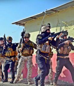 Task Force Praesidium, Diga di Mosul: il 3° Alpini conclude il 1° ciclo addestrativo per le Forze Speciali Irachene della Golden Division