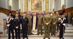 CESIVA: Precetto natalizio interforze celebrato a Civitavecchia dall'Ordinario Militare Mons Marcianò