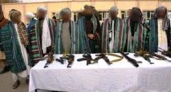 TAAC-W, RS: dieci talebani consegnano le armi sotto il timore delle pressanti operazioni in area. Salito al 78% il sostegno al governo a Herat e provincia