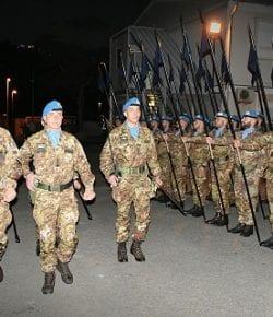 Sector West, UNIFIL: il Savoia Cavalleria al comando di ITALBATT. Lo Stendardo dei Cavalieri paracadutisti è ora ad Al Mansouri, nel sud del Libano