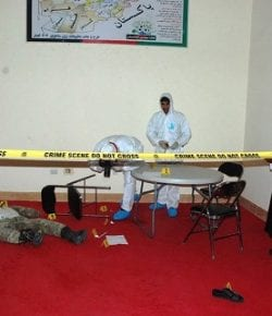 TAAC-W, Resolute Support: abilitata la prima donna agente RIS con il corso di Crime Scene Investigation (CSI)