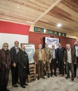 """Sector West, UNIFIL: incontro con i libanesi laureati in Italia rafforza il legame tra i Paesi, """"una seconda famiglia nella Terra dei Cedri"""" spiega il gen Sganga"""