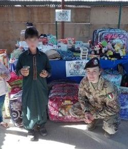 TAAC-W, RS: dalla Sardegna l'aiuto ai poveri di Herat consolida il supporto alla popolazione dei progetti CIMIC