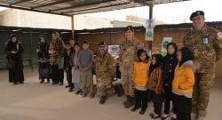TAAC-W, Resolute Support: la Sassari consegna doni per i bambini dell'orfanotrofio di Herat. I primi aiuti risalgono al 2008