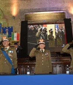 COMFOP SUD: il gen Castellano assume il comando delle Forze Operative Sud