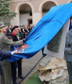 """CME Puglia: la cerimonia di inaugurazione del Monumento ai Caduti, """"opera di grande pregio che rappresenta un gesto eroico"""""""