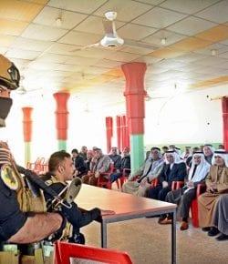 Task Force Praesidium, Iraq: si conclude la prima fase del programma di stabilizzazione dell'area