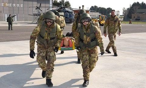 Marina: oggi si conclude il 20° corso di Medicina da combattimento, esercitazione finale alla presenza di osservatori esterni