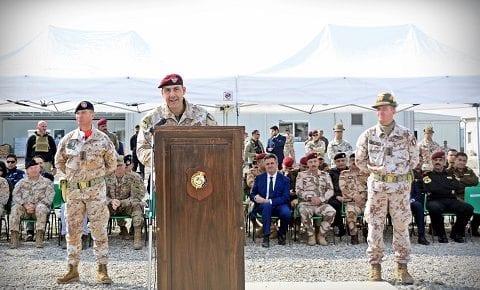 Task Force Praesidium, Iraq: via gli Alpini del 3°, arrivano i Dimonios del 151° Fanteria Sassari