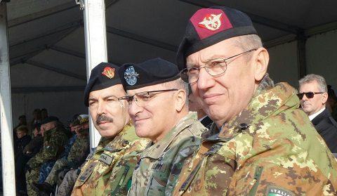 Al NATO JFC Brunssum il gen Marchiò avvicenda il gen Farina: il CaSMD gen Graziano presente alla cerimonia