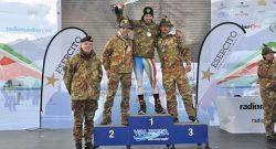 CaSTA 2018: i primi Campioni italiani dell'Esercito sono della Tridentina; tutto il podio del fondo maschile al Centro Addestramento Alpino