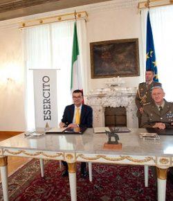 COMFOTER SPT: siglata la cessione di un cannone inerte calibro 75/27 mod. 1911 alla città di Verona, sarà un monumento agli Artiglieri