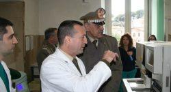 COMLOG Esercito: il gen De Leverano in visita al Celio, videoconferenza con l'ospedale da campo di Misurata, in Libia