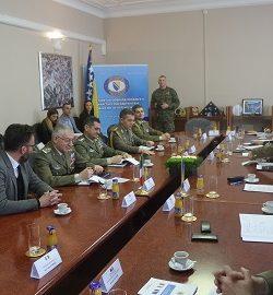 Difesa: il CaSMD gen Graziano a Sarajevo in visita ufficiale. Aggiornamento operativo dal Comandante di EUFOR Althea