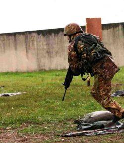 Scuola Sottufficiali Esercito: il XIX Saldezza si addestra al tiro con arma individuale di tipo statico e dinamico
