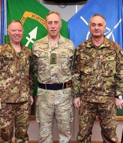 Difesa, cambio vicecomandante ARRC UK: il gen Boni avvicenda il gen D'Alessandro
