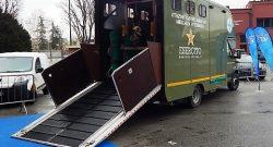 COMLOG: l'Ospedale Veterinario Militare al Milano Vet Expo 2018 mostra le tecnologie di cura dei quadrupedi dell'Esercito e l'ambulanza per i cavalli